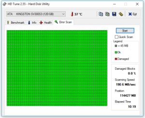 hard disk guasto