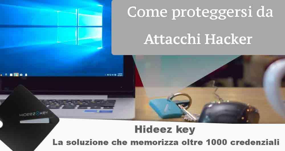 Come proteggere i dati da attacchi hacker